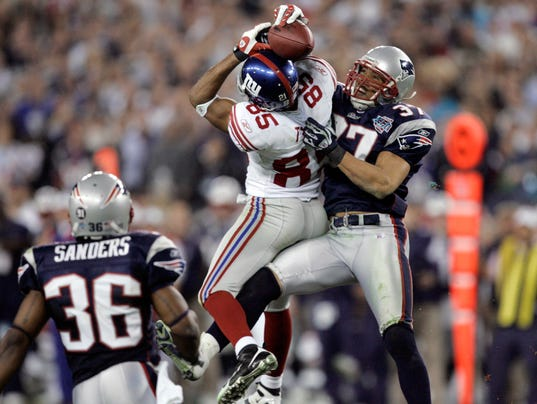Former New York Giants wide receiver David Tyree