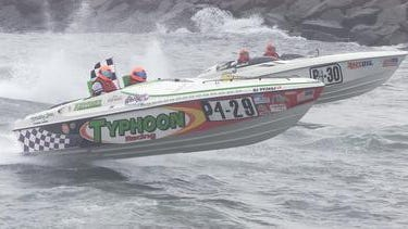 In this file photo, two power boats race off of Point Pleasant.