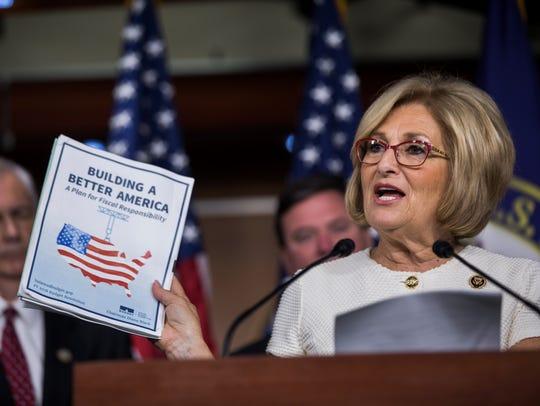 House Budget Chairwoman Diane Black, R-Tenn., speaks