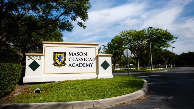 Mason Classical Academy, a charter school founded by then Collier County School Board member Kelly Lichter.