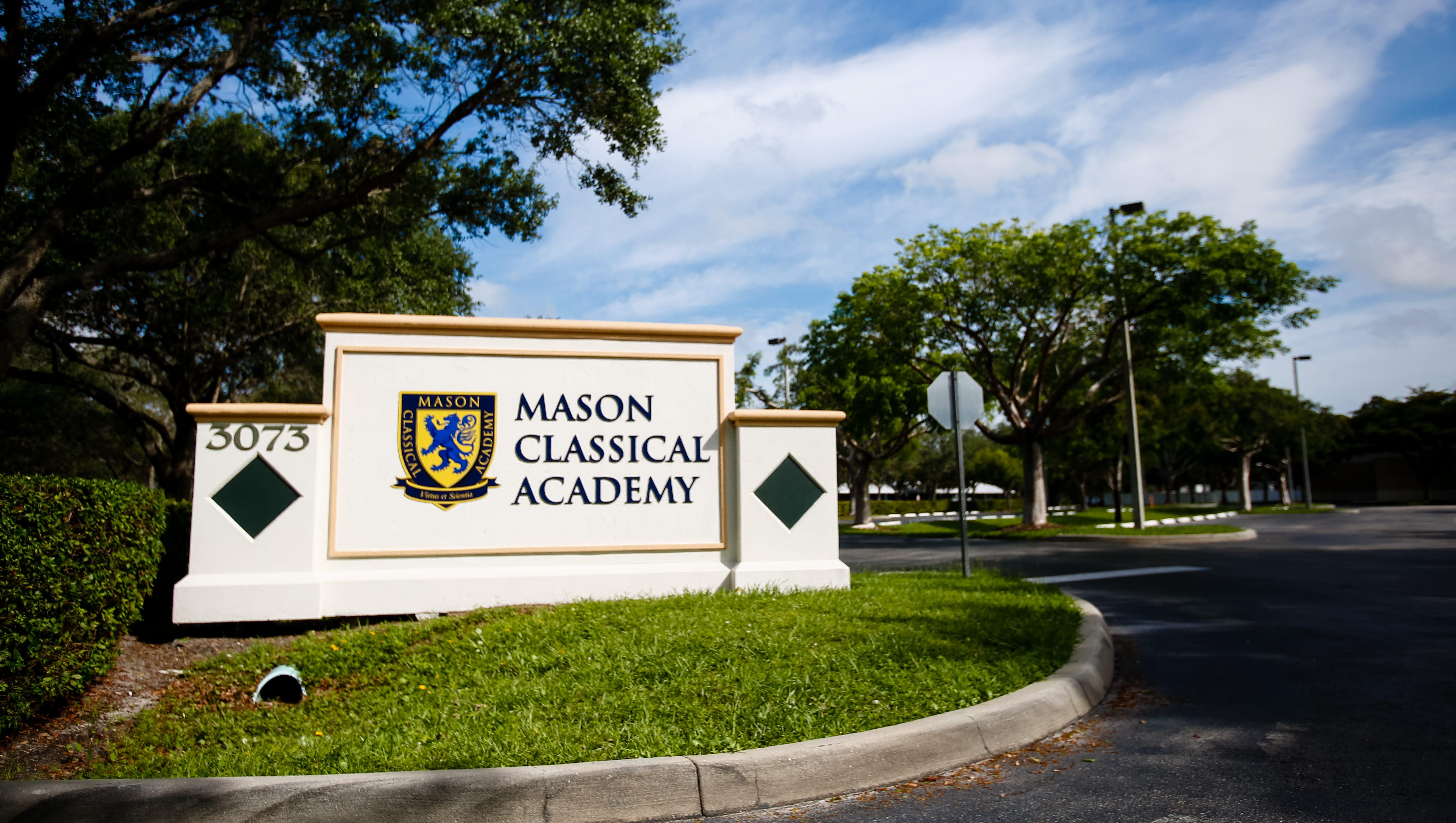 Mason Classical sues school district, former board treasurer