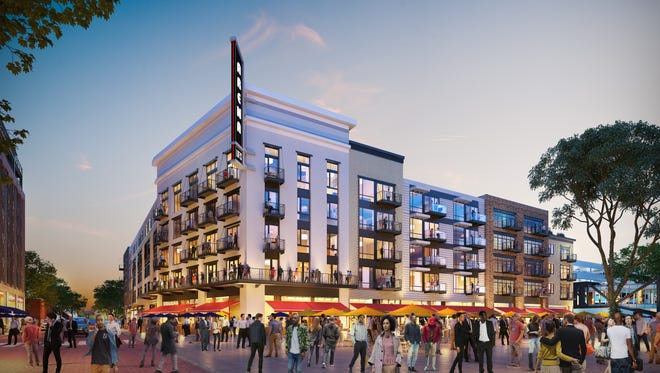 The Arena Lofts, at 120 Henry, will include 153 residential units plus retail near Little Caesars Arena.