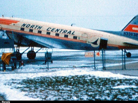 A Douglas DC-3 aircraft tied to the history of North Central Airlines has been purchased by the Aviation Heritage Center and will be returning to Wisconsin for permanent display. Pictured is how the aircraft looked while serving as a passenger carrier.