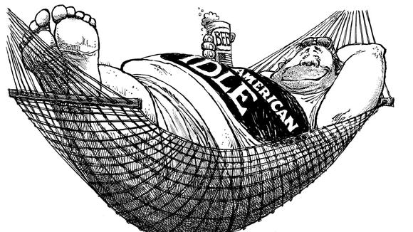 Benson Cartoon Friday, 06/09/06 : American Idle - Immigrant