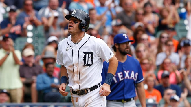 Ian Kinsler of the Detroit Tigers.