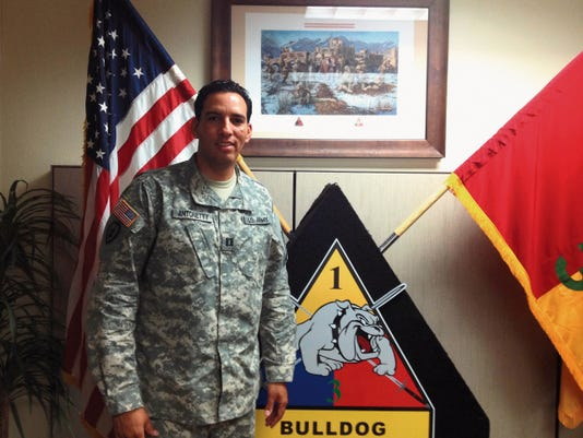 Capt. Dary Antonetty is 3rd Armored Brigade's lead planner for its Africa mission.