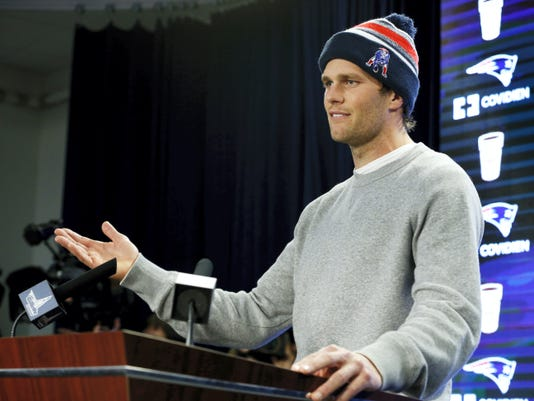 """Tom Brady is coming under fire for his alleged role in """"deflatefate."""""""