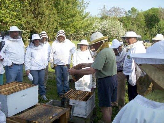Dr. Clint Perry from the School of Biological and Chemical Sciences at Queen Mary University, London, will speak on honeybee stress and colony collapse disorder at the Ag Heritage Center, Chambersburg, on Nov. 12.