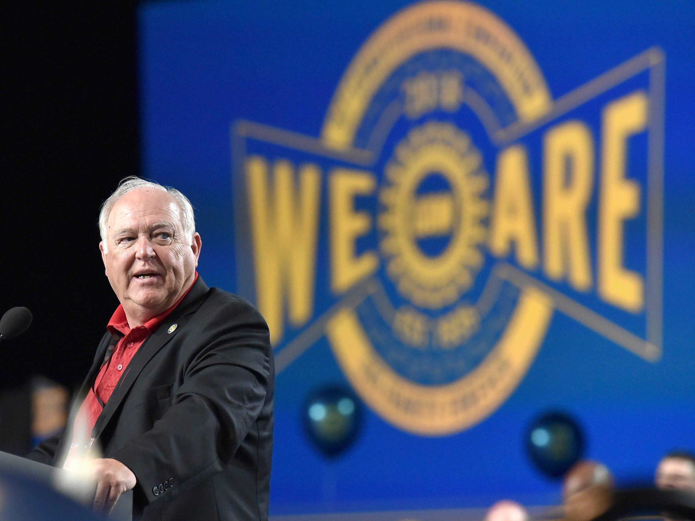 Former UAW President Dennis Williams.