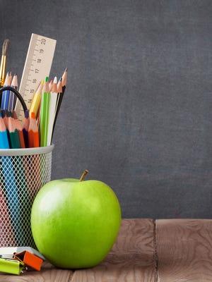 File image: School supplies.