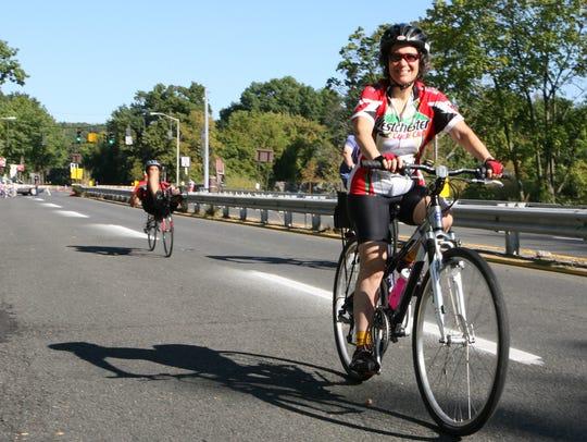 Bicycle Sundays begin again on May 1. The 13-mile loop