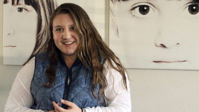 Julieta Marquez, 17, a junior at Coronado High School, lives life with an insulin pump always by her side to manage her type 1 diabetes.