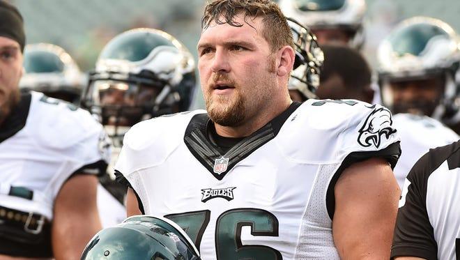 Philadelphia Eagles lineman Allen Barbre won't use the Redskins team name.