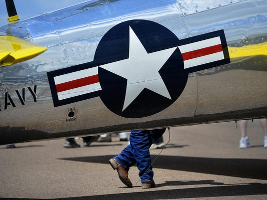 WWII veterans honored, warbirds fly over Great Falls