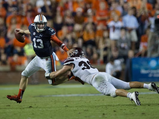 NCAAFB Auburn Missisippi State