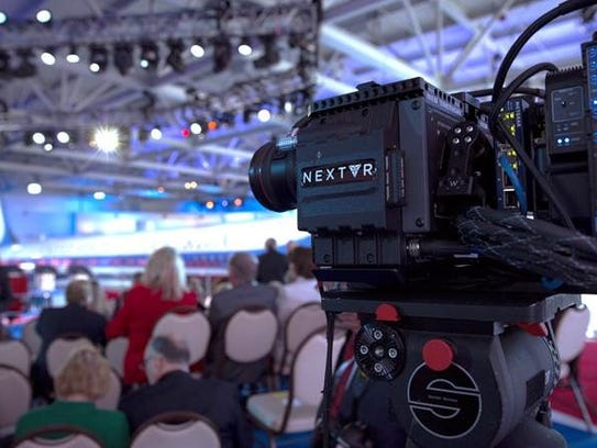 NextVR will place between 2 and 10 VR cameras in a