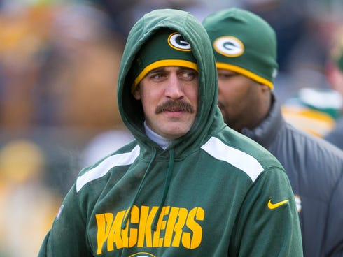 It appears Packers QB Aaron Rodgers will miss his fourth consecutive start Thursday.