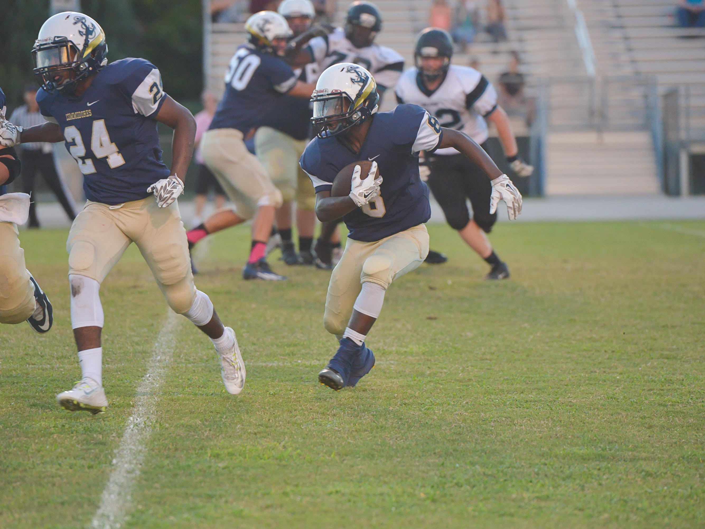 Eau Gallie visited Jensen Beach in a Class 6A, District 14 game on Friday night.
