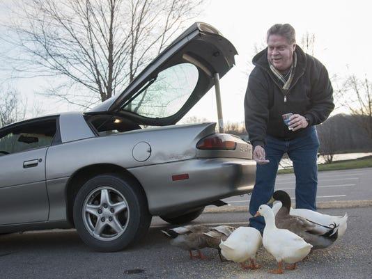 BMN 012116 Feeding the ducks A1