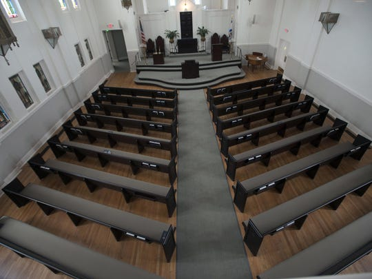 Renovations to Temple Beth El are nearly complete.
