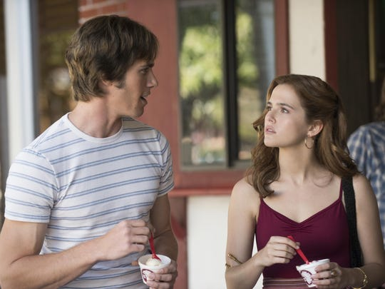 """Blake Jenner, left, and Zoey Deutch star in """"Everybody Wants Some."""""""