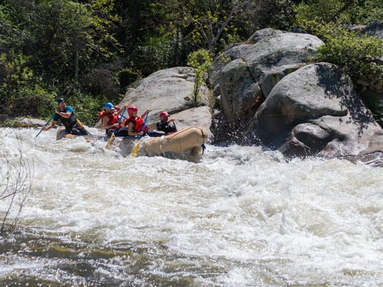 The rafting industry seems to be making a comeback in the Three Rivers area. For about three years, commercial rafting has been nearly nonexistent because of the drought. Good Times Adventures is a new company offering trips down the main fork of the Kaweah River.