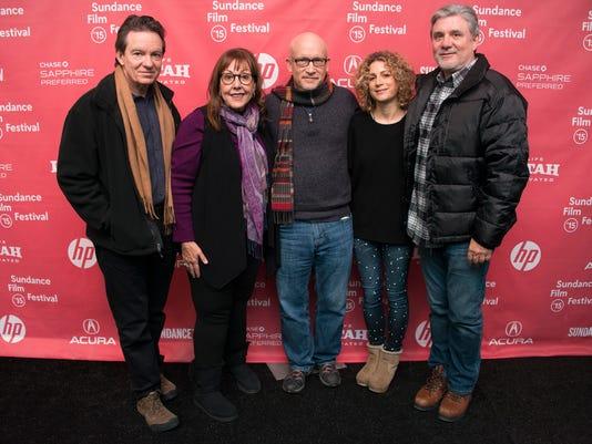 Lawrence Wright, Spanky Taylor, Alex Gibney, Sara Bernstein, Mike Rinder
