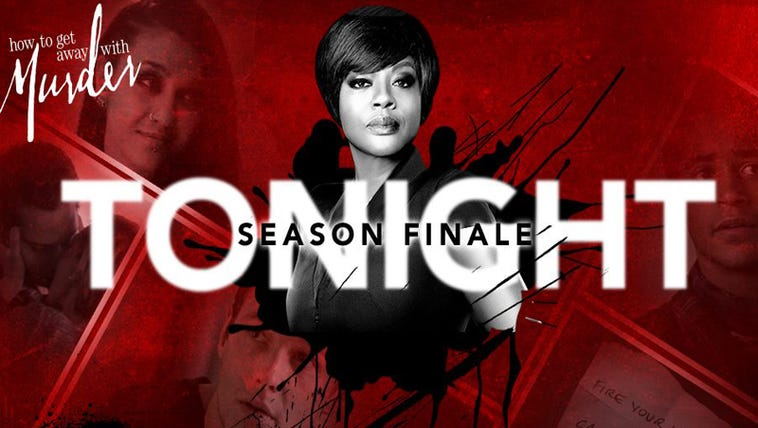 The HTGAWM 2-hour season finale airs tonight at 9:00