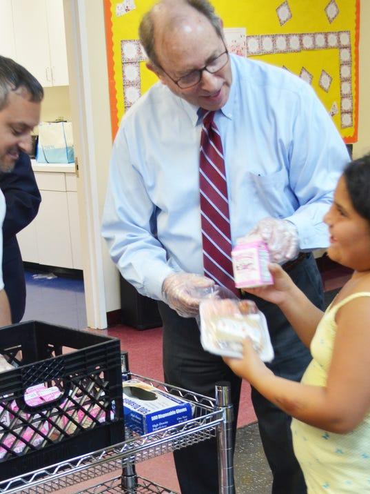 Agencies sought to sponsor meals PHOTO CAPTION
