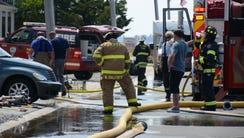 Fire at O Street, Seaside Park.