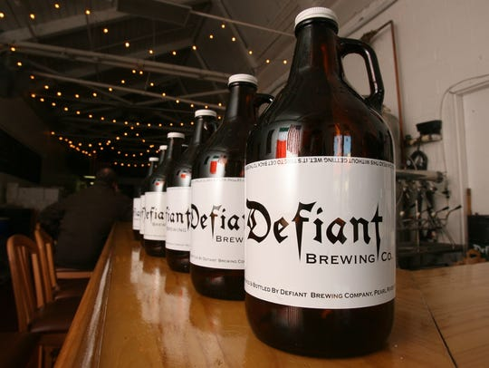 The Defiant Brewing Co. in Pearl River offers its beers