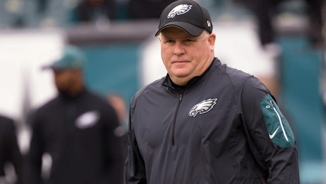 Eagles head coach Chip Kelly was fired by the team on Thursday.