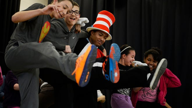 "Students at Ferguson K-8 School are putting on a musical again and need volunteers. They produced ""Seussical the Musical"" in 2014."