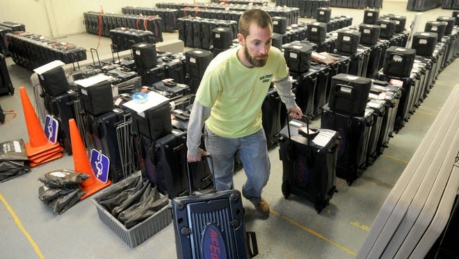 York County had to deal with the fallout when a programming problem with the voting machines caused issues in the November election.