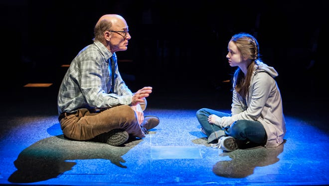 Ed Harris, Rileigh McDonald in David Rabe's Good for Otto, directed by Scott Elliott.