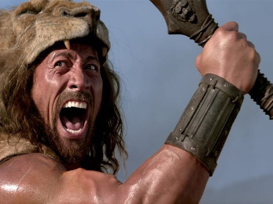 "Dwayne Johnson, whose appearance in a Gov. Chris Christie video was nixed, will appear instead in Paramount Pictures ""Hercules."" Photo courtesy of Paramount Pictures"
