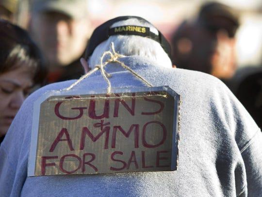 As seen at a Phoenix gun show.