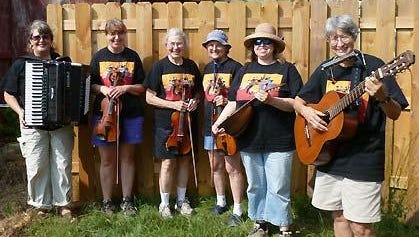 Dark of the Moon, an all-women's Madison-based band, will entertain June 13 at Stratford Heritage Days, specializing in music for contradancing, such as jigs and reels, waltzes, polkas, schottisches, folk song, Cajun and more.