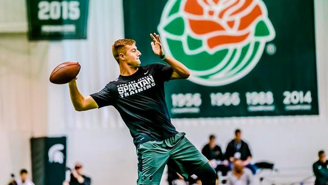 Fresh Thyme Farmer's Market in East Lansing will host a special going away party for Connor Cook on Saturday.