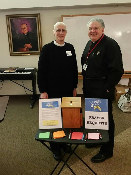Rev. Kevin Stewart and Rev. Jim Banach