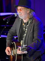 """Ray Wylie Hubbard performs at the CMHOF's """"Outlaws and Armadillos"""" opening concert. Friday May 25, 2018, in Nashville, Tenn."""