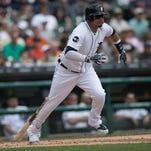 Daddy duties call as Tigers' Victor Martinez heats up; Buck Farmer called up to fill in