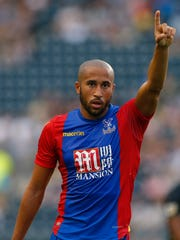 Crystal Palace's Andros Townsend in action during the