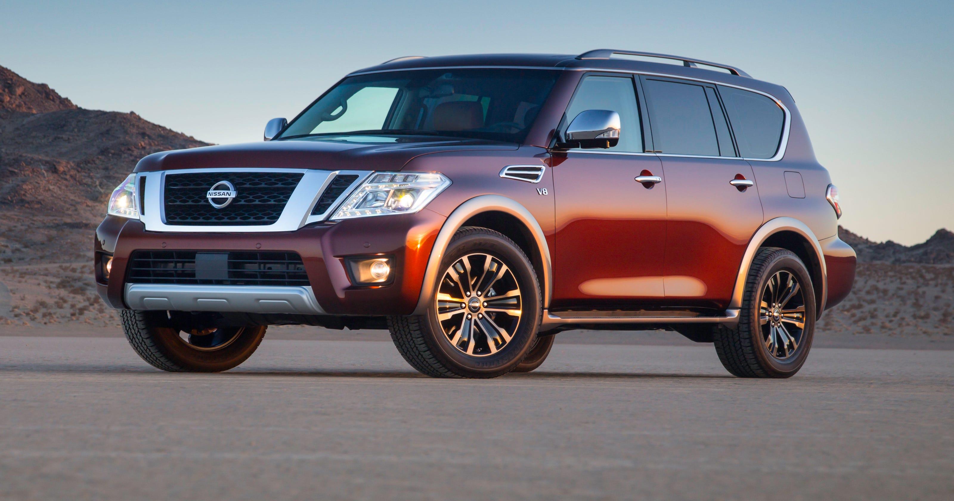 Nissan Showed New Longer 2017 Armada Suv