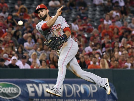 MLB: Cincinnati Reds at Los Angeles Angels