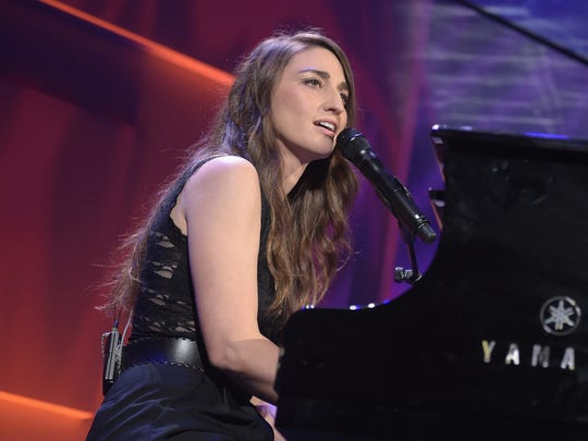 Sara Bareilles performs on stage during the 12th annual UNICEF Snowflake Ball at Cipriani Wall Street on November 29, 2016 in New York City.