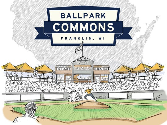 The team at Franklin's Ballpark Commons will be named by the community. That team will be part of the American Association of Professional Baseball.