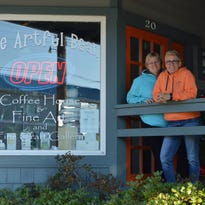 A recent renovation project has allowed the Artful Bean in Bethany Beach to offer customers more elbow room and seating options.