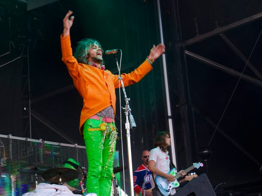 The Flaming Lips perform at the Gentlemen of the Road