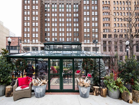 The  Downtown Detroit Markets serve two purposes: They